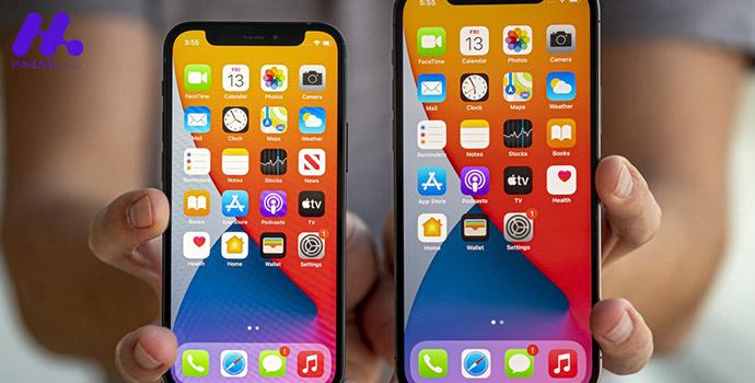 سیستم عامل iOS14 و قابلیت های آن در گوشی iPhone 12 mini