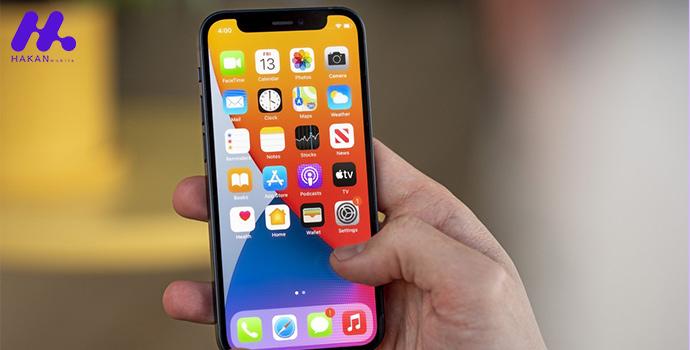 صفحه نمایش گوشی iPhone 12 mini