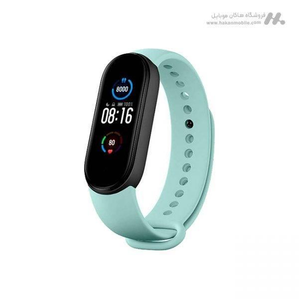 ساعت هوشمند شیائومی مدل Xiaomi Mi band 5 Global آبی