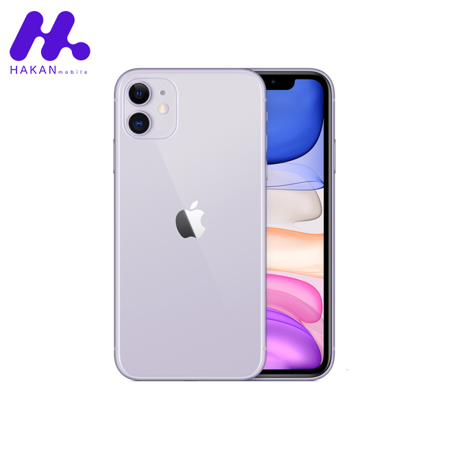 گوشی موبایل اپل آیفون 11 (New pack) بنفش
