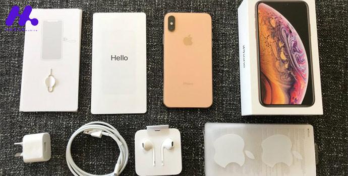 محتویات جعبه گوشی Apple iPhone XS