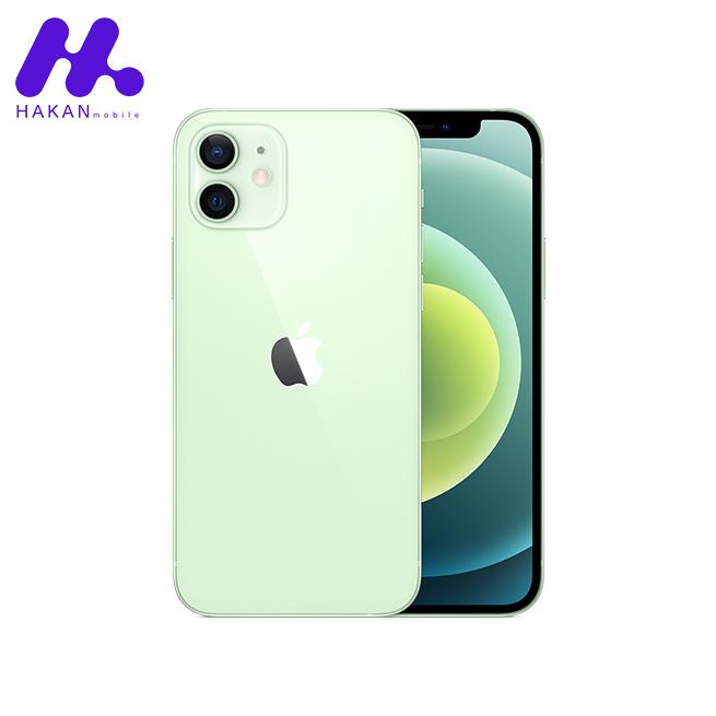 گوشی آیفون 12 مینی با ظرفیت 256 گیگابایت سبز