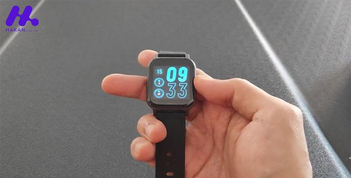 صفحه نمایش ساعت هوشمند شیائومی مدل هایلو LS02