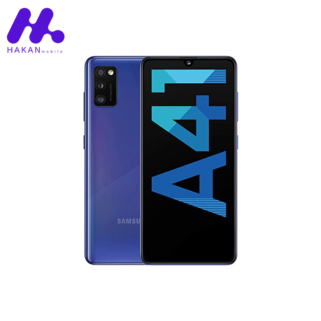 گوشی سامسونگ گلکسی Samsung Galaxy A41 آبی