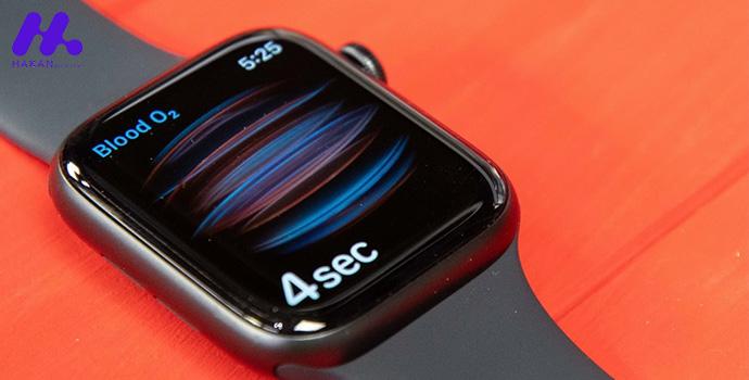 صفحه نمایش اپل واچ سری 6