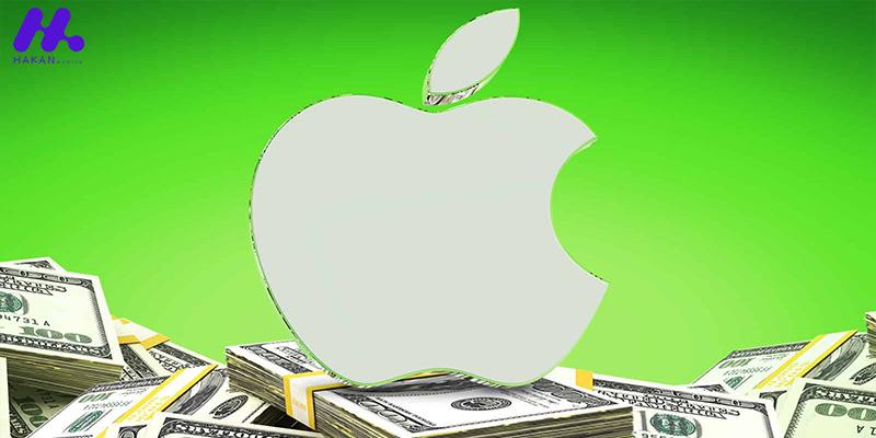 درآمد 111 میلیارد دلاری اپل در سه ماهه اول سال 2021