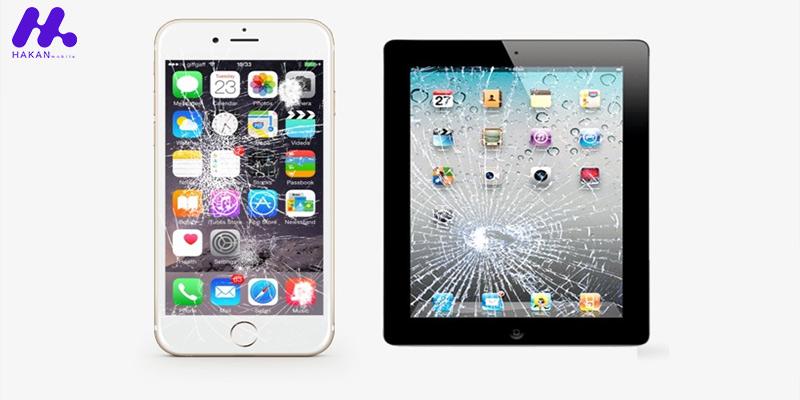آموزش تعمیر کردن صفحه نمایش شکسته آیفون یا آیپد