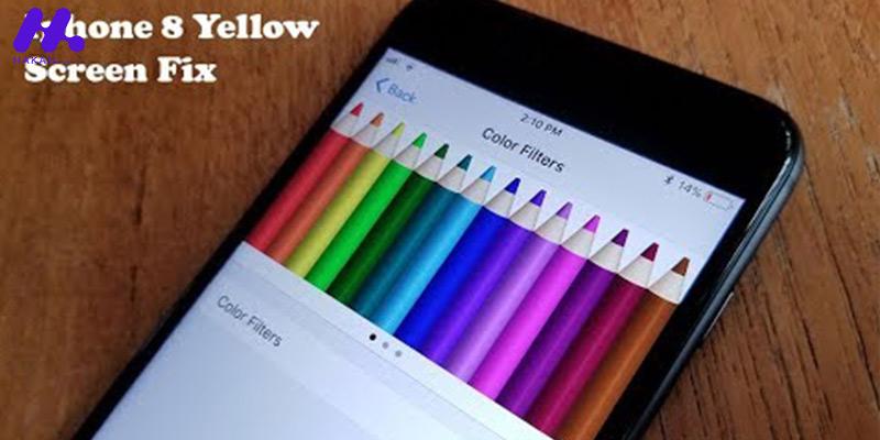 آموزش اصلاح رنگ زرد نمایشگر گوشی های آیفون