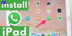آموزش سریع و آسان نصب واتساپ بر روی آیپد