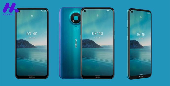 طراحی گوشی Nokia 3.4