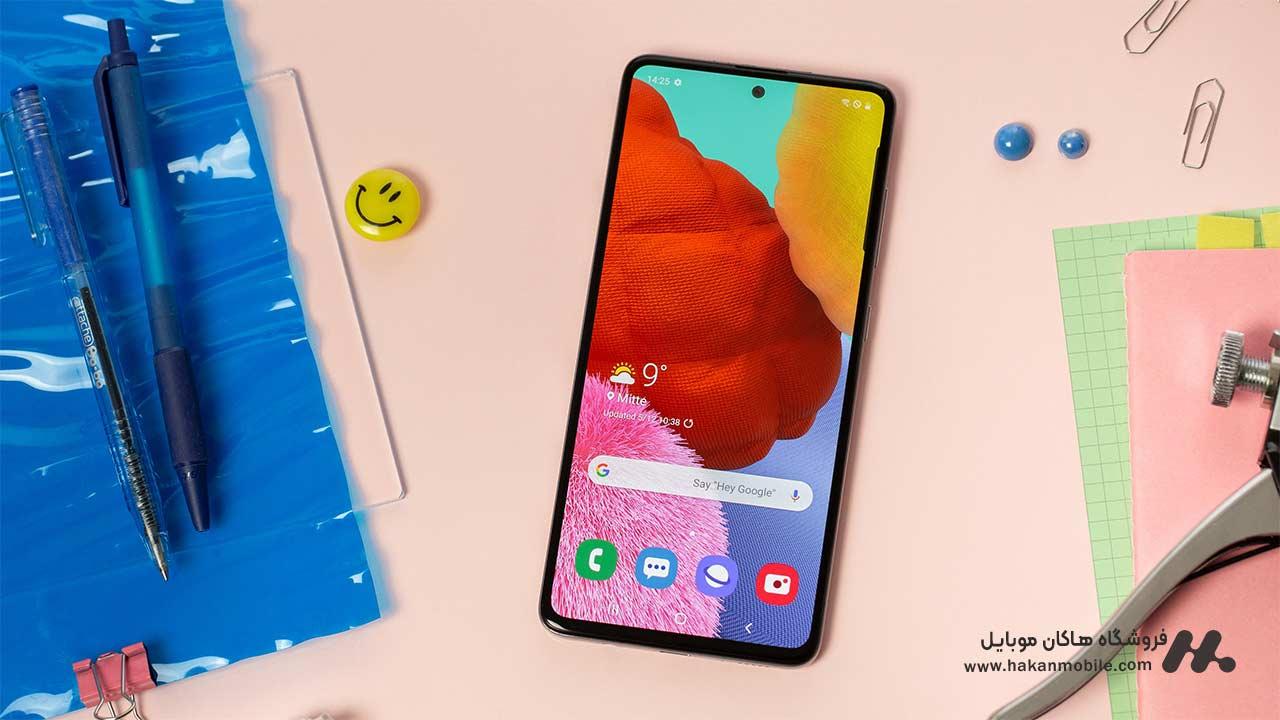 صفحه نمایشی گوشی Samsung Galaxy A52 128GB