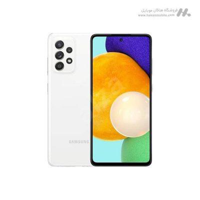 گوشی سامسونگ گلکسی ای 52 نسخه 4G ظرفیت 128 گیگابایت سفید