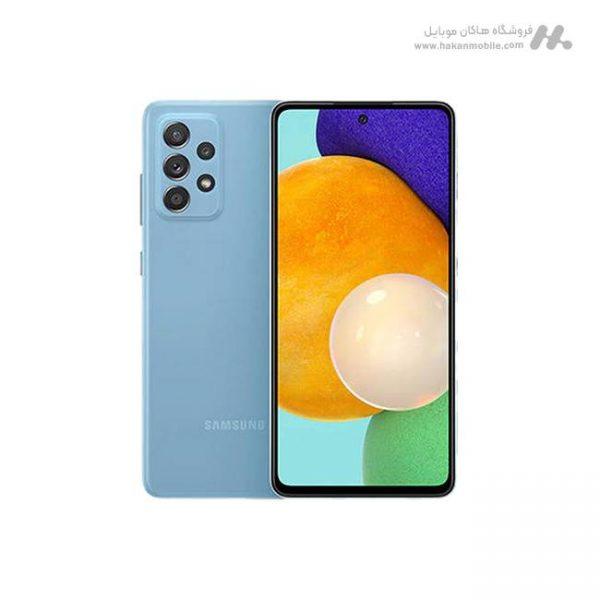 گوشی سامسونگ گلکسی ای 52 نسخه 4G ظرفیت 256 گیگابایت آبی