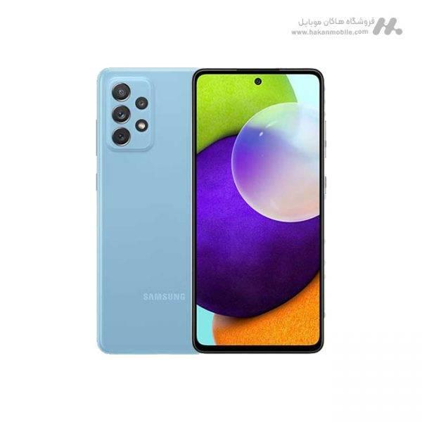 گوشی سامسونگ گلکسی ای 72 نسخه 4G ظرفیت 128 گیگابایت آبی