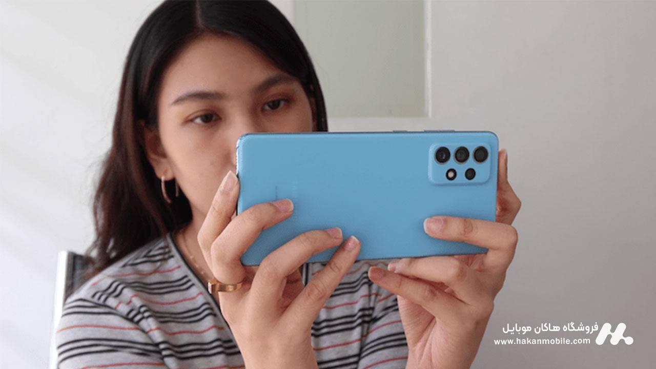دوربین گوشی Samsung Galaxy A72