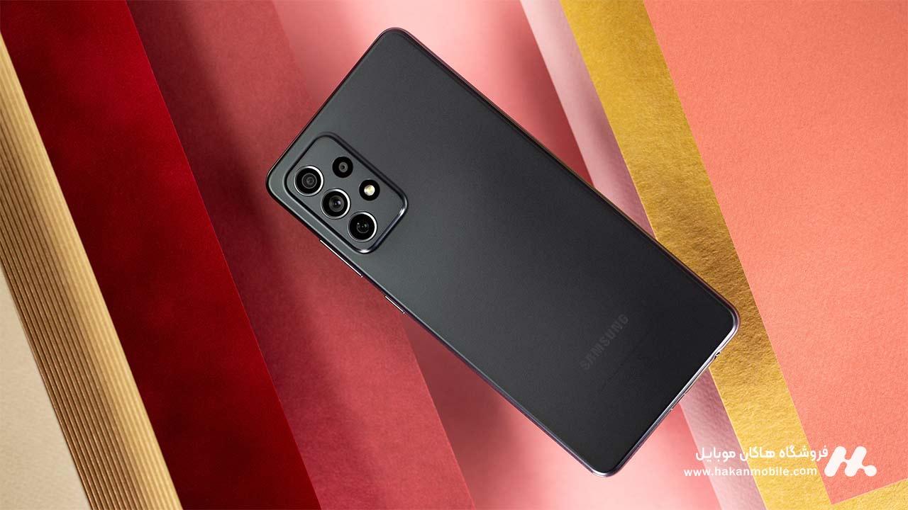 گوشی سامسونگ گلکسی ای 72 نسخه 4G ظرفیت 256 گیگابایت