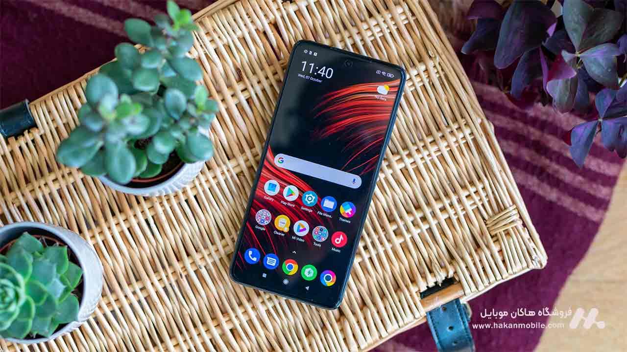 صفحه نمایش گوشی Xiaomi Poco X3 64GB