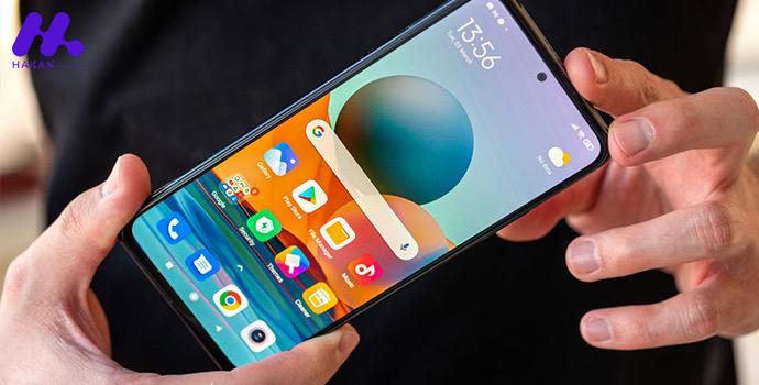 صفحه نمایش گوشی شیائومی ردمی نوت 10 پرو ظرفیت 128 گیگابایت