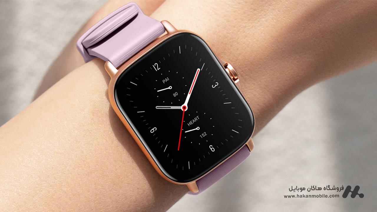 مشخصات فنی ساعت هوشمند شیائومی مدل Amazfit GTS 2e