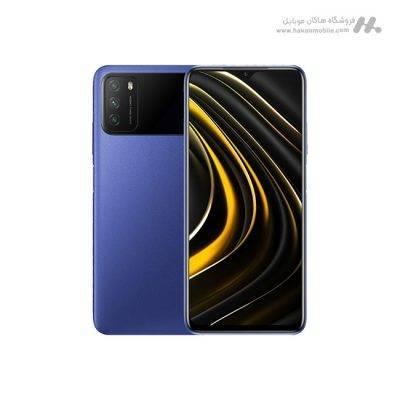 گوشی شیائومی مدل پوکو ام 3 ظرفیت 128 گیگابایت آبی