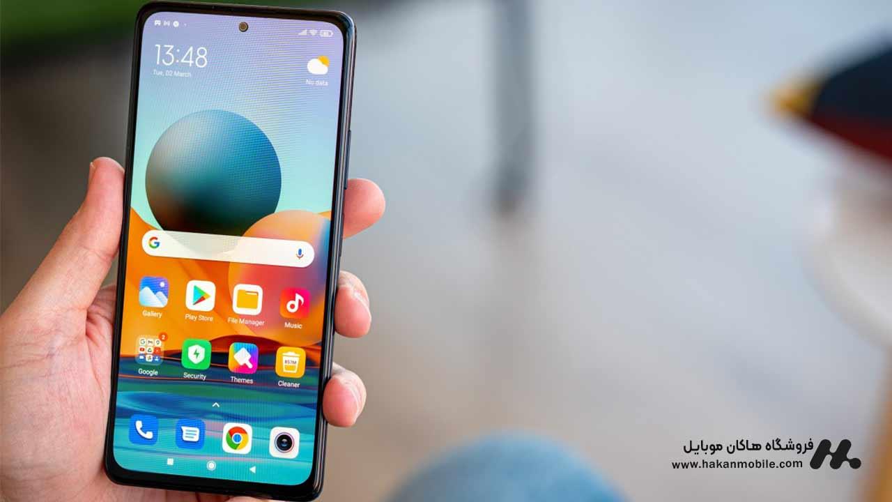 صفحه نمایش گوشی ردمی نوت 10 پرو مکس از Xiaomi