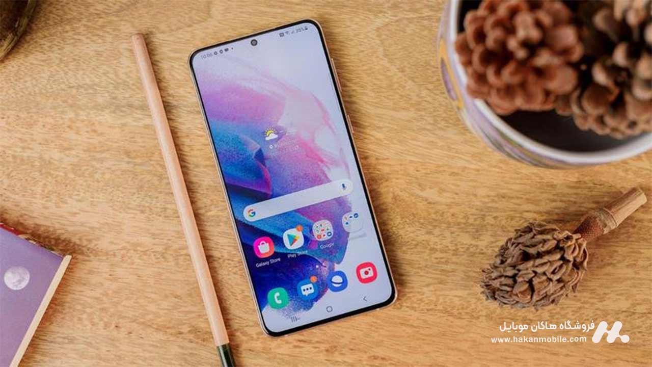 صفحه نمایش گوشی Galaxy S21 Plus 5G