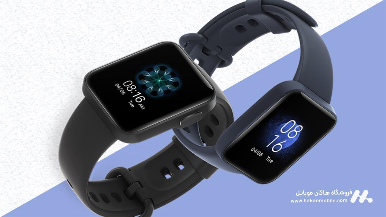 صفحه نمایش ساعت هوشمند شیائومی مدل Xiaomi Mi Watch Lite