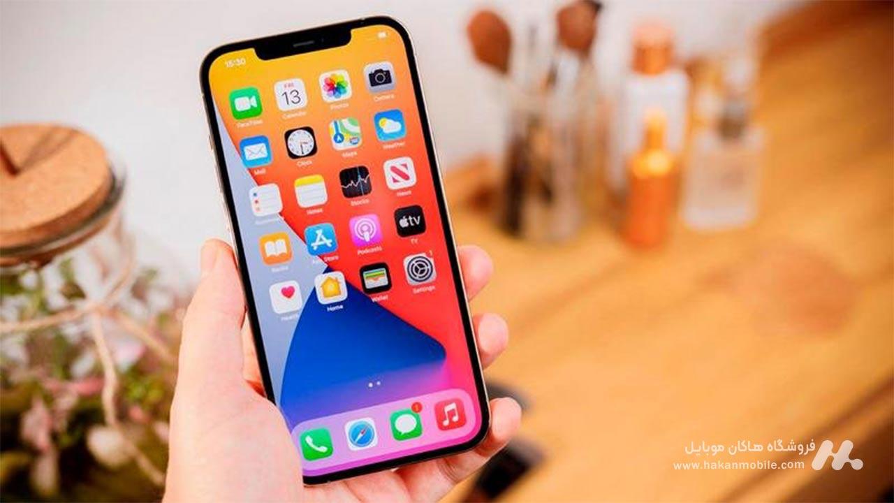 صفحه نمایش گوشی iPhone 12 Pro Max 256GB