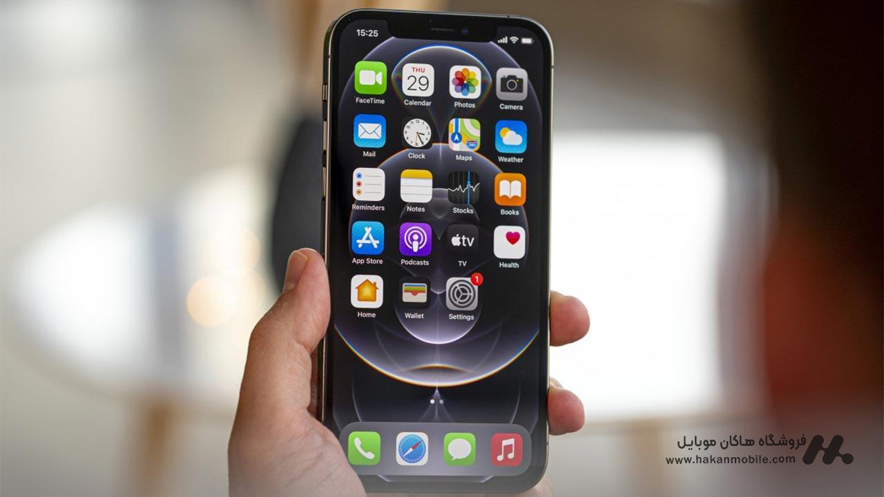 صفحه نمایش گوشی iPhone 12 Pro Apple