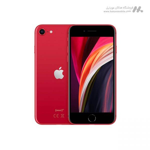 گوشی آیفون SE 2020 ظرفیت 128 گیگابایت قرمز