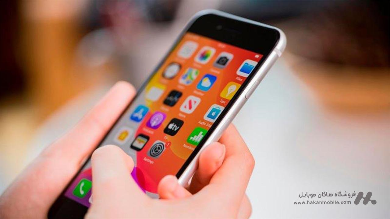 صفحه نمایش گوشی آیفون SE 2020 (New Pack)