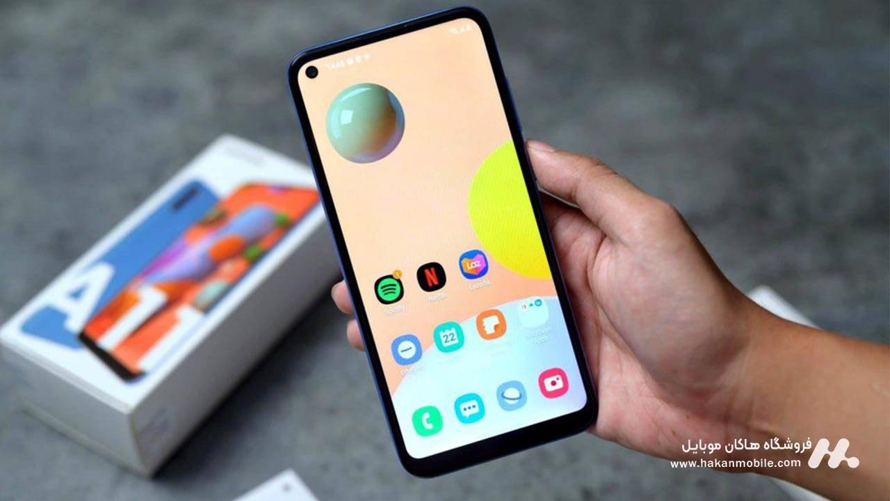 صفحه نمایش گوشی Samsung Galaxy A11