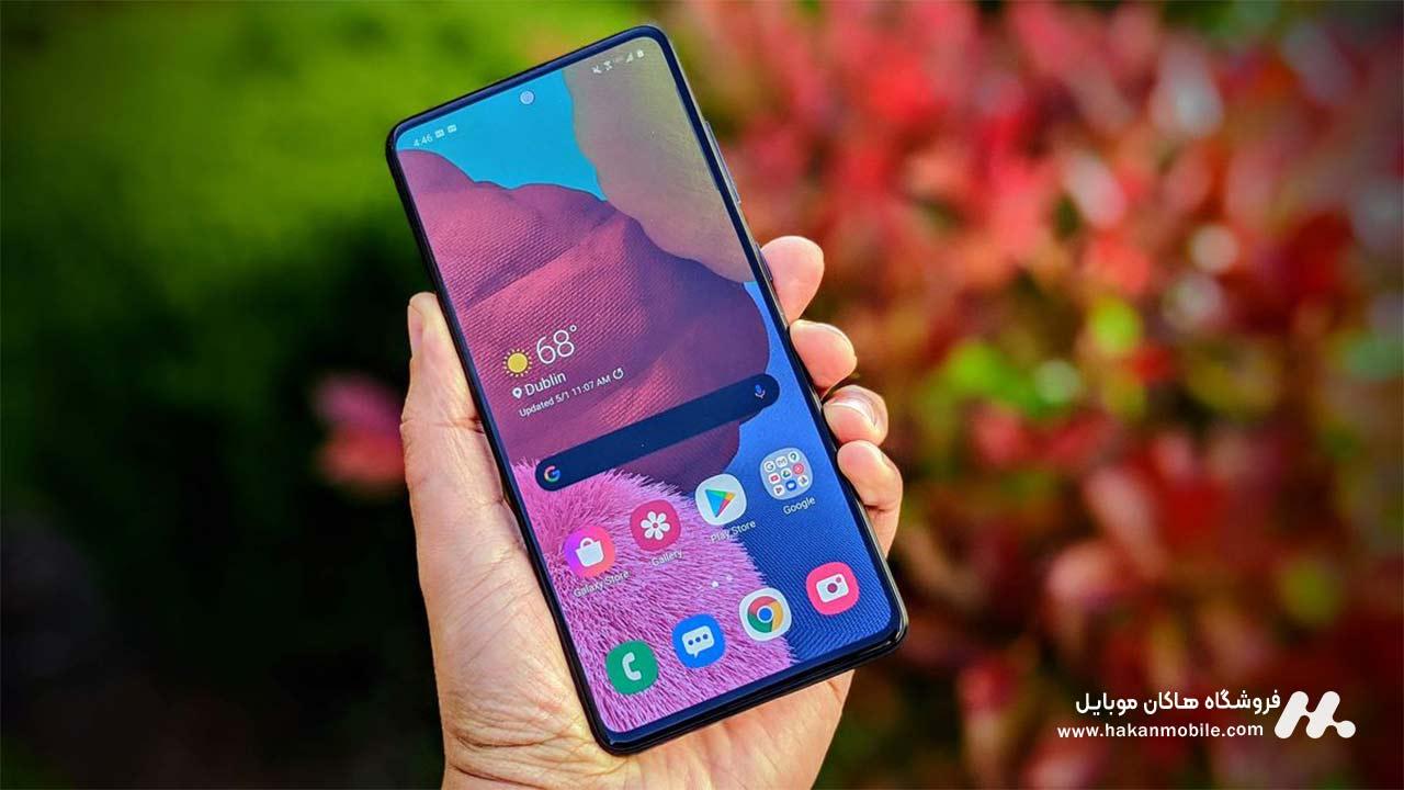صفحه نمایش گوشی A51