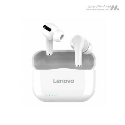 هندزفری بی سیم لنوو مدل Lenovo LivePods LP1S سفید