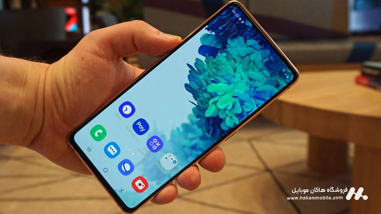 صفحه نمایش گوشی Samsung Galaxy S20 FE 5G