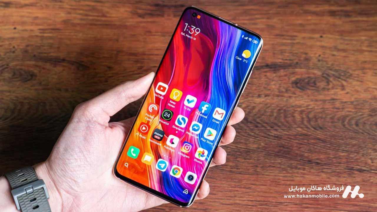 صفحه نمایش گوشی شیائومی می10T پرو