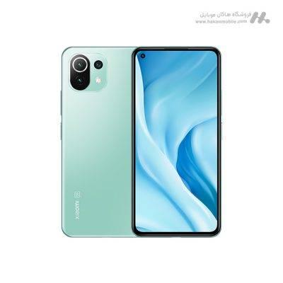 گوشی شیائومی می 11 لایت 5G ظرفیت 256 گیگابایت آبی