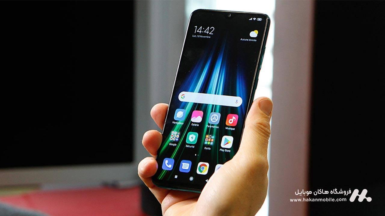 صفحه نمایش گوشی شیائومی نوت 8 پرو