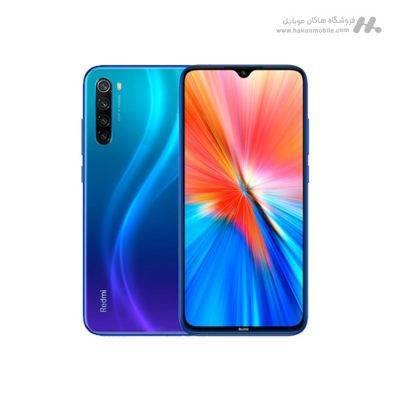 گوشی شیائومی ردمی نوت 8 نسخه 2021 ظرفیت 128 گیگابایت آبی