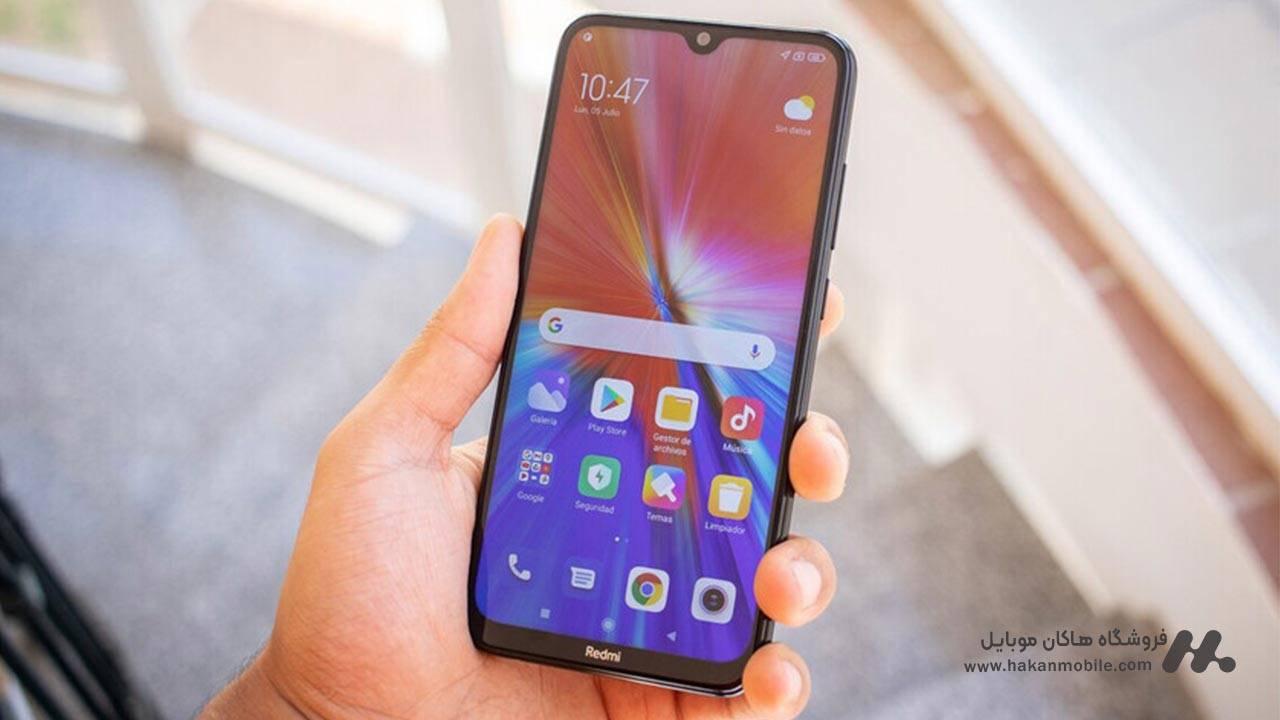 صفحه نمایش گوشی شیائومی ردمی نوت 8 نسخه 2021