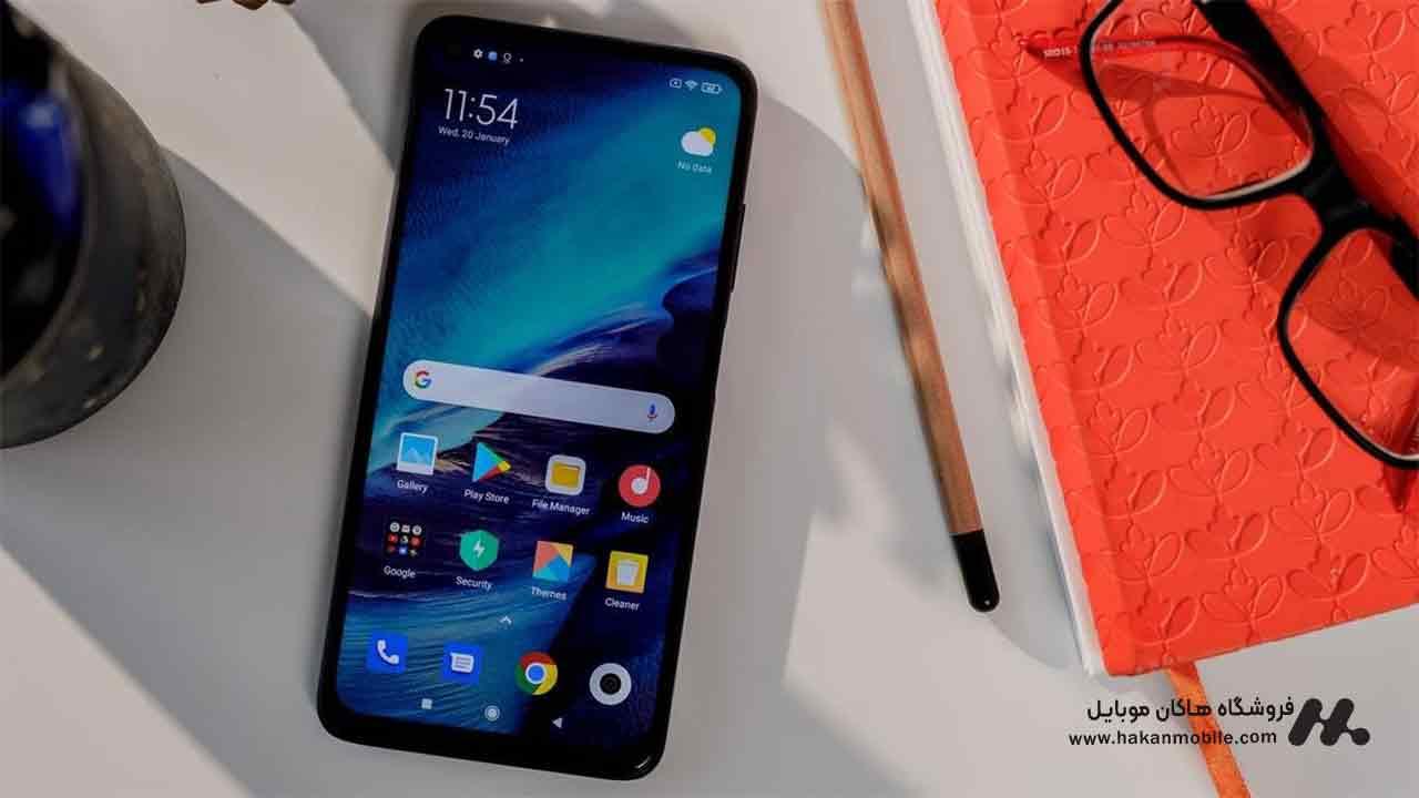 صفحه نمایش گوشی ردمی Note 9T شیائومی