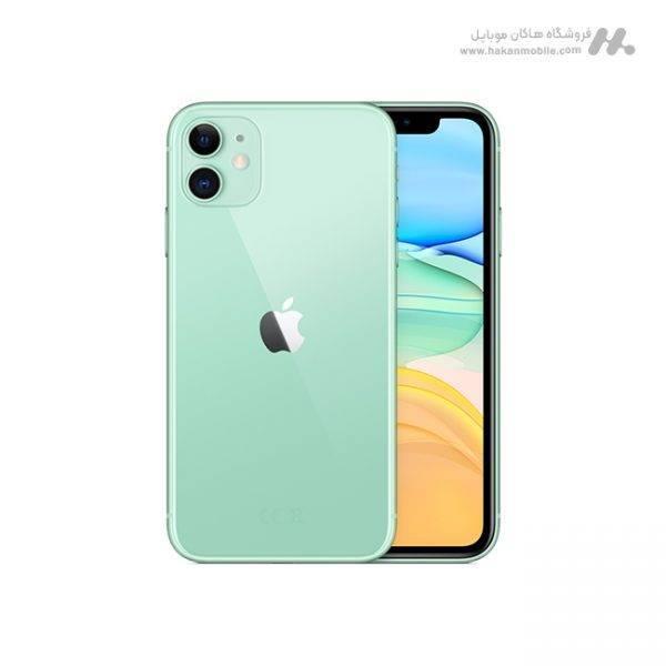 گوشی اپل آیفون 11 دوسیم کارت ظرفیت 128 گیگابایت