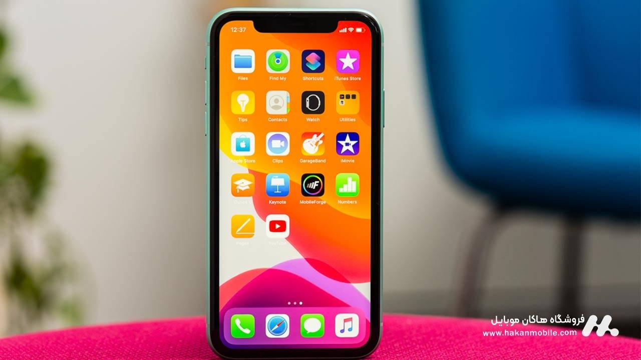 صفحه نمایش گوشی اپل iPhone 11