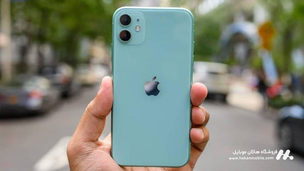 طراحی گوشی آیفون 11 اپل