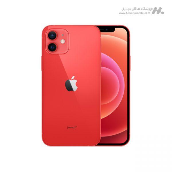 گوشی آیفون 12 قرمز