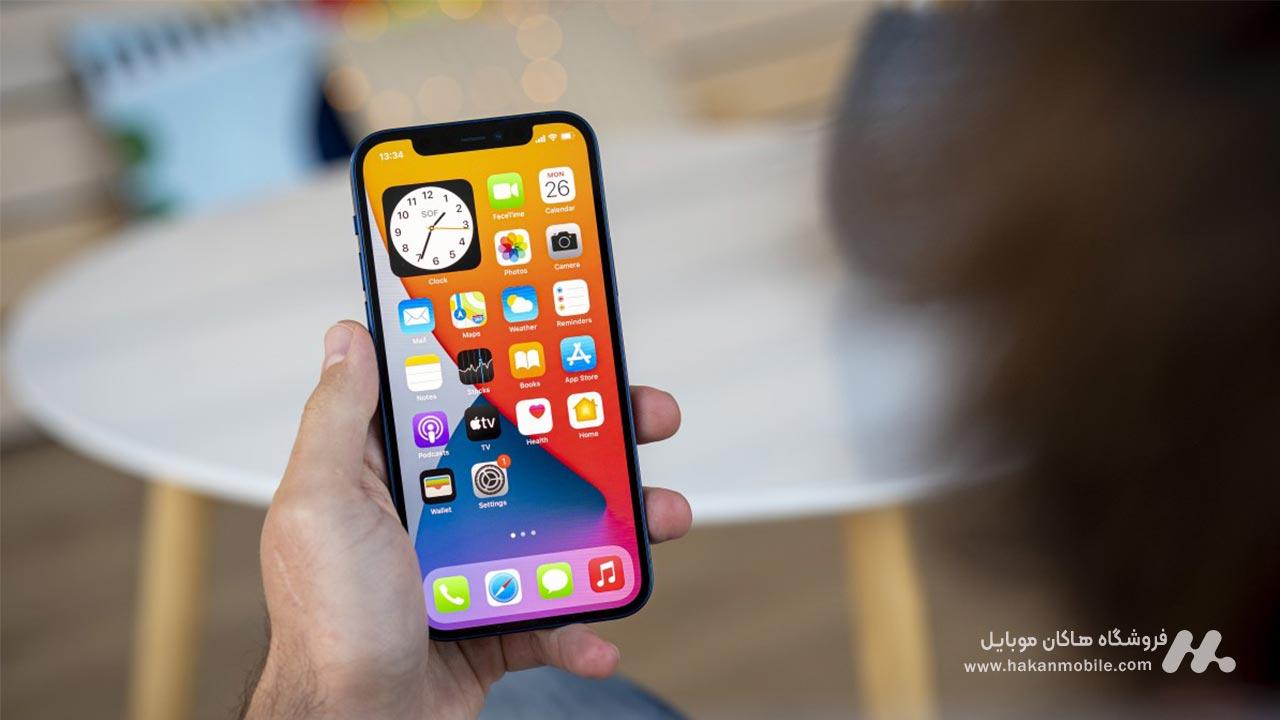 صفحه نمایش گوشی iPhone 12 Apple