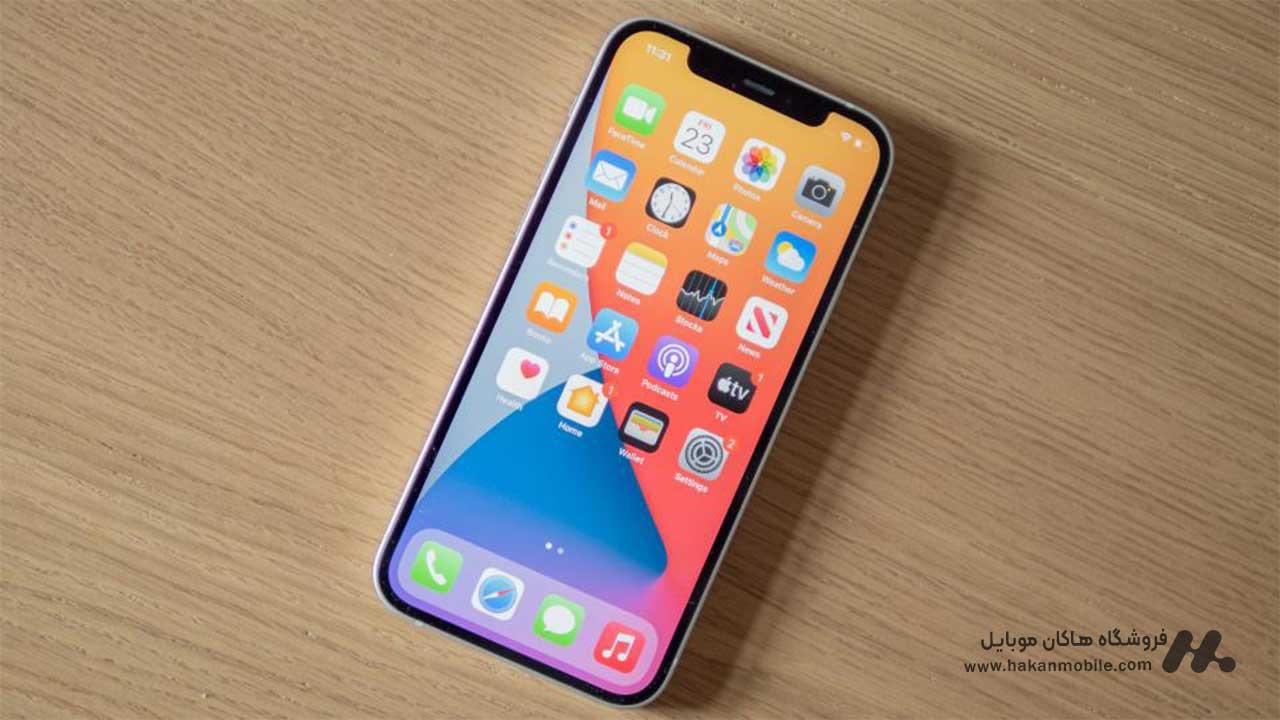 صفحه نمایش iPhone 12 Apple