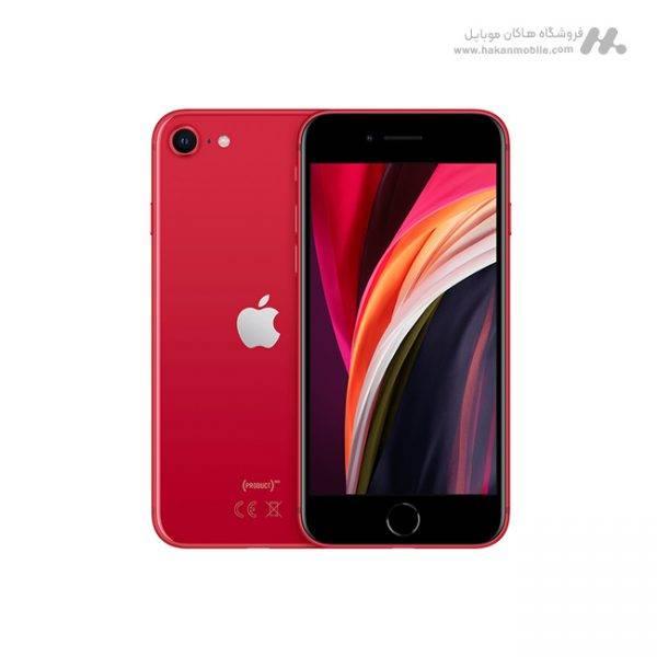 گوشی آیفون SE 2020 ظرفیت 64 گیگابایت قرمز