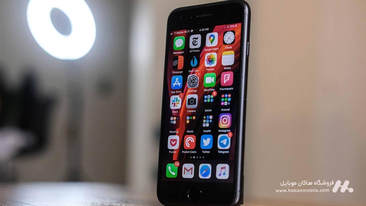 صفحه نمایش گوشی iPhone SE