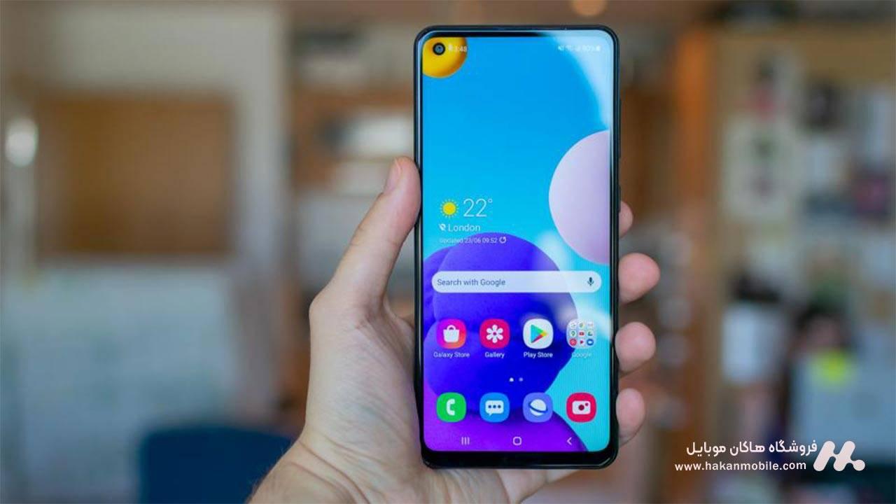 صفحه نمایش Samsung Galaxy A21s